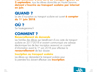 Transports scolaires 2019